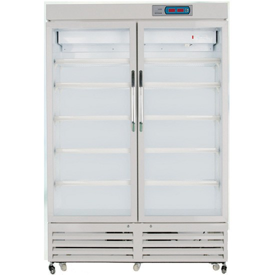 2 to 8Degree Double Door Classical Model Pharmacy Refrigerator
