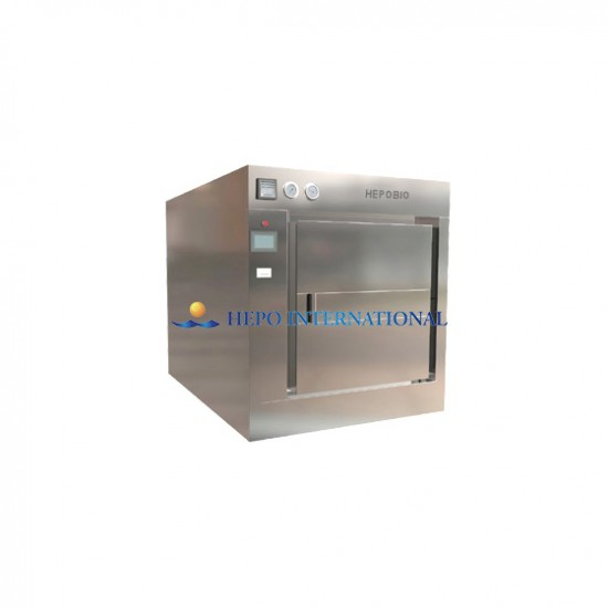 CE Certified Large Capacity Auto Pulse Vacuum Steam Autoclave
