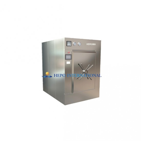 CE certified Hospital Popular Large Capacity Pulse Vacuum Steaming Autoclave