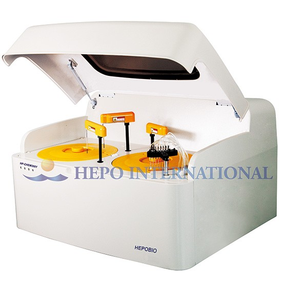 300TESTS/HOUR Bench Top Hospital Automatically Biochemistry Analyzer