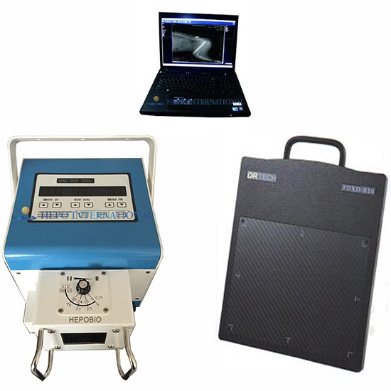 Veterinary Portable Digital HIgh Frequency X Radiography Imagine System