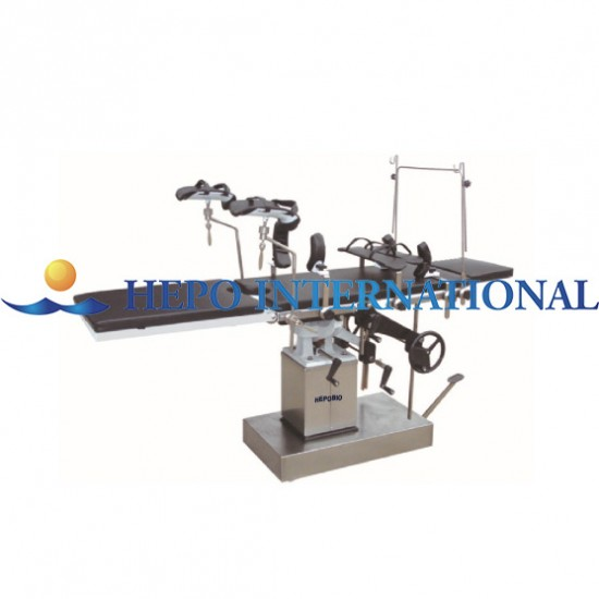 Clinic Popular Multifunctional Manual Hydraulic Surgical Operating table