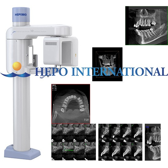 Hospitcal Cephalometric and Panoramic Imaging CBCT Detan X Ray Machine