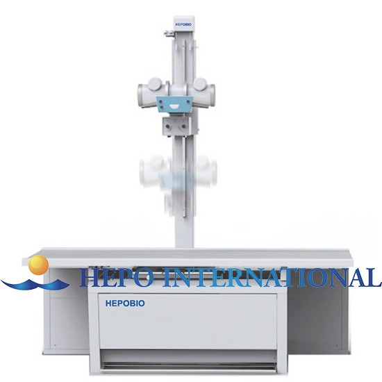Popular 500mA Medical Stationary X Ray Imaging Machine