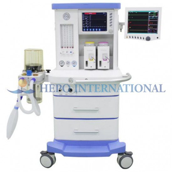 Advanced Clinic Anesthesia Apparatus With CO2 Gas Monitor System