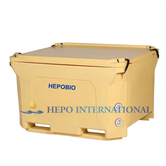 Large Capacity Hot Climate Sea Fish Insulated Cooling Pallet
